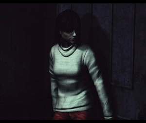 (Silent Hill 2) Who is Angela looking for?