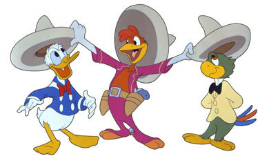 The Three Caballeros : how many presents did Donald receive for his birthday ?