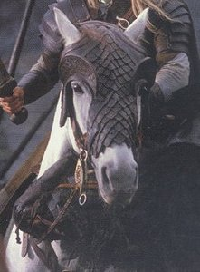 What is the name of Legolas' horse?
