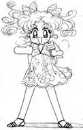 True au False: Kousagi is the Daughter of Chibiusa?
