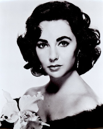 True or False: Jessica has said she is a big fan or Elizabeth Taylor?