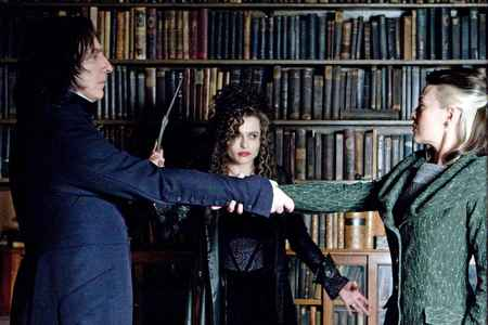 Alan Rickman and Helena Bonham Carter worked together in how many 电影院 until 2011?