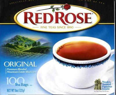 Red Rose Tea is from what country?