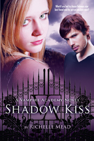 Who's on the old cover of Shadow Kiss?