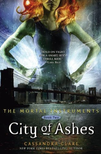 Who's on the City of Ashes cover?