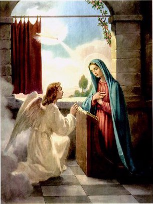 "Which of the Archangels visited Mary with the message that she was to have a child ""The Baby Jesus"" ?"