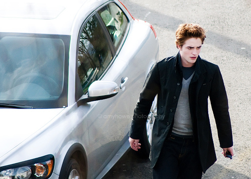 What is Edward's Volvo's number?
