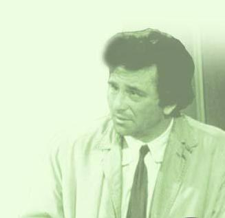 """You want a cognac?"" Columbo answered - No, sir! I _____________"