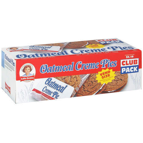 How much was a carton of Oatmeal Creme Pies when they first came out?