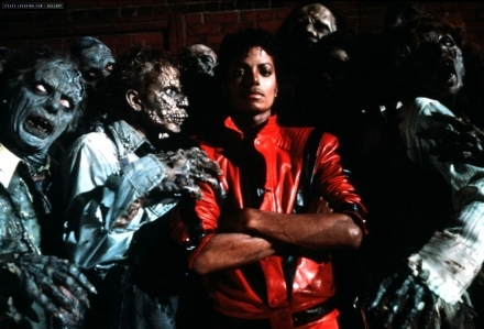 What was the originally name of the Thriller single?