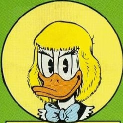 What is the name of Donald's twin sister?