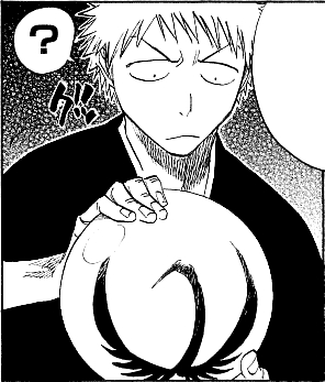 wat is the glass like orb Kuukaku used to help Ichigo & friends penetrate Seireitei called?