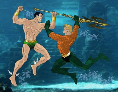 How will win Aquaman vs Namor?