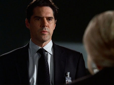 Hotch is looking at...