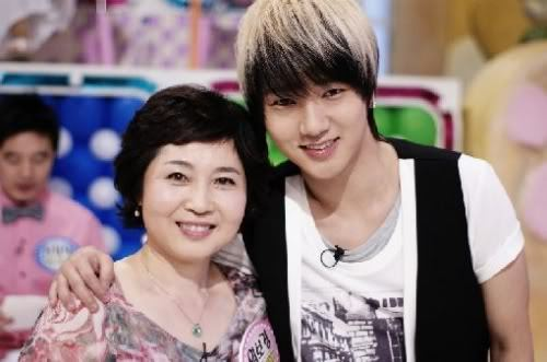 She looks close with Yesung...Who is she?