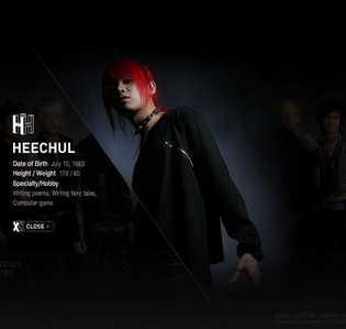who is hee chul best friend?