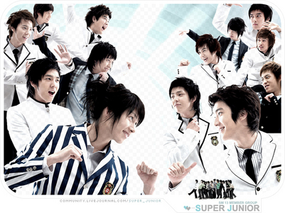 What is the first single song for Super Junior?