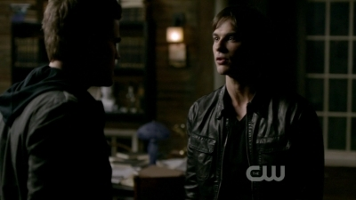 "In this Scene Damon says that he promised Stefan ""an eternity of misery"" for _______?"