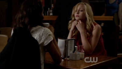 In this scene Caroline admits what to Bonnie?