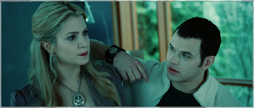 What was Rosalie doing when she first met Emmett?