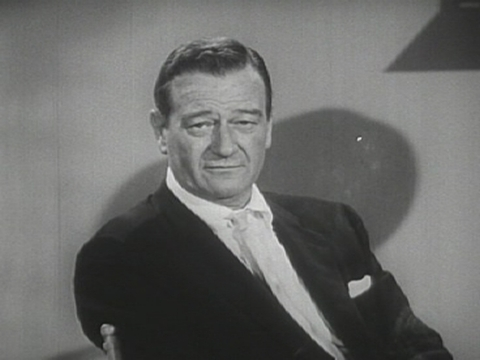How did John Wayne sadly pass away ?
