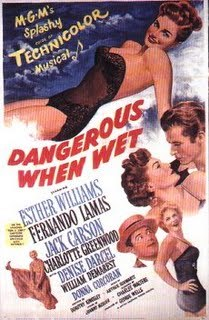 Tom & Jerry appeared in the movie &#34;Dangerous When Wet&#34; ?