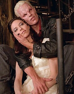 Drusilla left Spike twice, for two different kinds of demon. What were they?