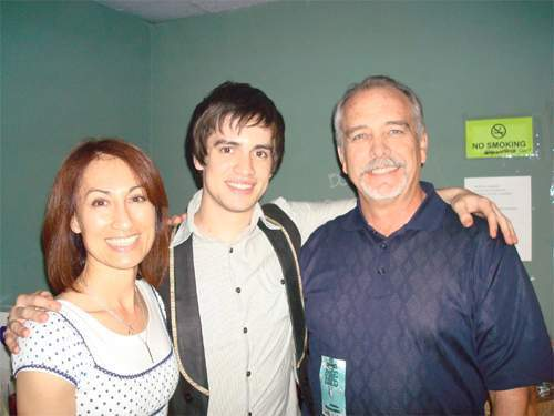 True or False : Brendon's parents : They were the only parents from Panic! At The Disco to buy a copy of their CD