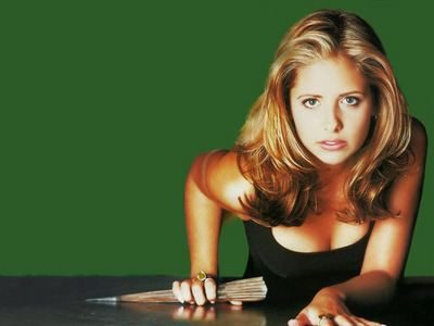 What does Buffy say acts on pure instinct, with no conscience, predatory, and aggressive?