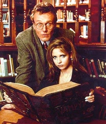 "According to Buffy, where do they ""make Gileses""?"