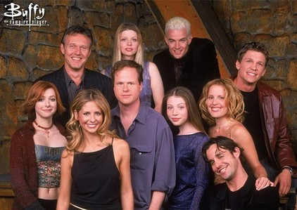 Buffy Math: Add the total number of episodes to the total number of seasons.