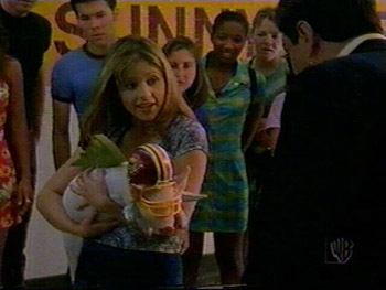 Buffy CLUE: Herbert the SHS Mascot was featured in Season One. What were the details of his downfall?