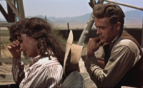 Which James Dean film is this scene from ?