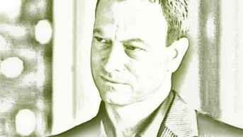 Gary Sinise's true eye color is what shade?