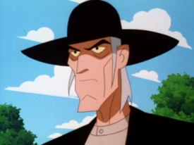 This villian was created just for Batman TAS
