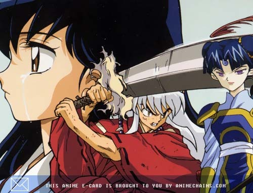 Who will Kagome choose Inuyasha o some other boy?