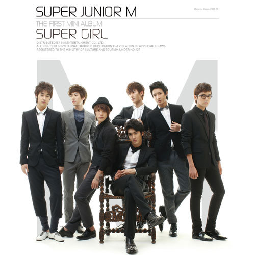 Who was the person in Super Junior M impersonated as spectacle boy in Super Girl Video?