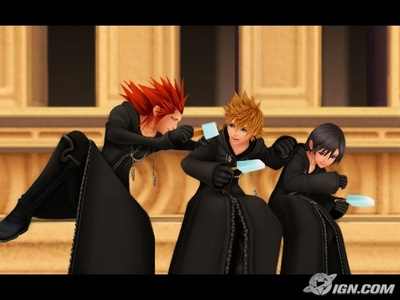 Y does Axel have 2 be Roxas' mentor?