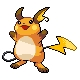 Raichu is not obtainable in all games.