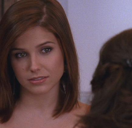 Brooke is looking at?