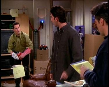 What game did Joey and Chandler create together?