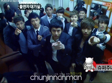 In Super Junior Mini Drama,when Prince group is making their concert,who unfortunately saw a ghost staring at him?