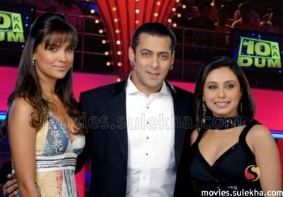 When rani and lara came to salmans show dus ka dum, who won the knockout round?