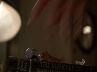 "From which episode in season five, do we see that House has Doyle's ""Sherlock Holmes"" book? (kind-of easy)"