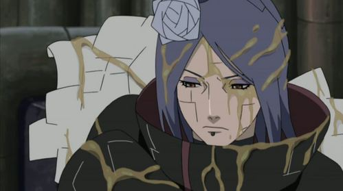 what is konan covered in?
