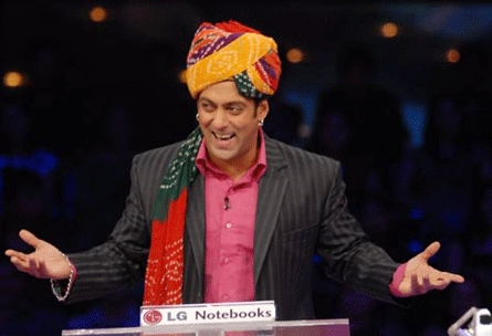 What tv game show is Salman Khan the host of?