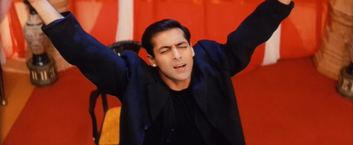 TRUE/FALSE:Prior to Hum dil de chuke sanam, Salman Khan has already worked with Sanjay Leela Bhansali once before.