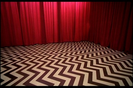 In the series finale, what is the last line of dialog spoken in the Black Lodge?