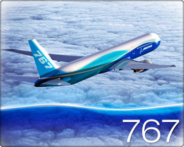 The Boeing 767 airliner makes its first flight. Which year ?