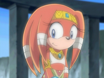 in sonic x how many episodes to you see tikal